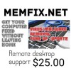 Need help with remote desktop support site - last post by Memfix.net