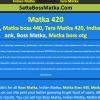 Matka 420