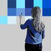 Nuances de bleus