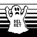ghost of delete key's Photo