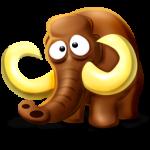 Portrait de mammouth