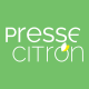 Un iPhone dans le Presse citron