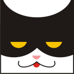 Profile picture of the masked cat