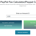 Profile picture of PayPal Fee calculator